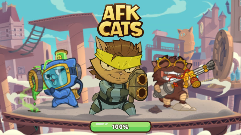 AFK Cats - Intro