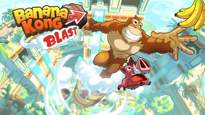 Banana Kong Blast (Game Android)