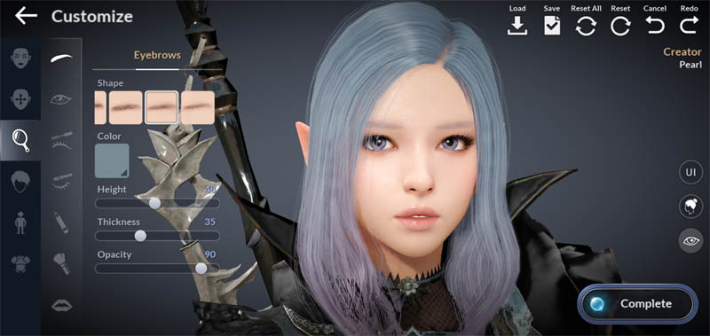 Black Desert Mobile - Kustomisasi