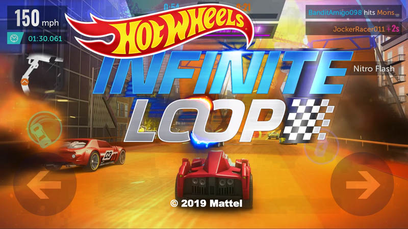 Hot Wheels Infinite Loop - Logo