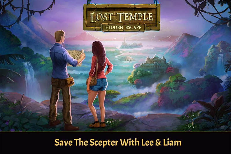 Lost Temple Hidden Escape: Faraway Adventure (Game Android)