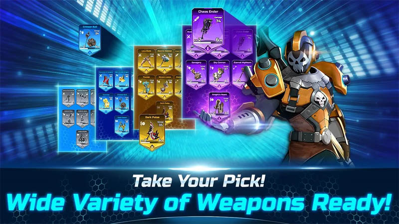 OVERDOX - Take your pick Wide variety of weapons ready