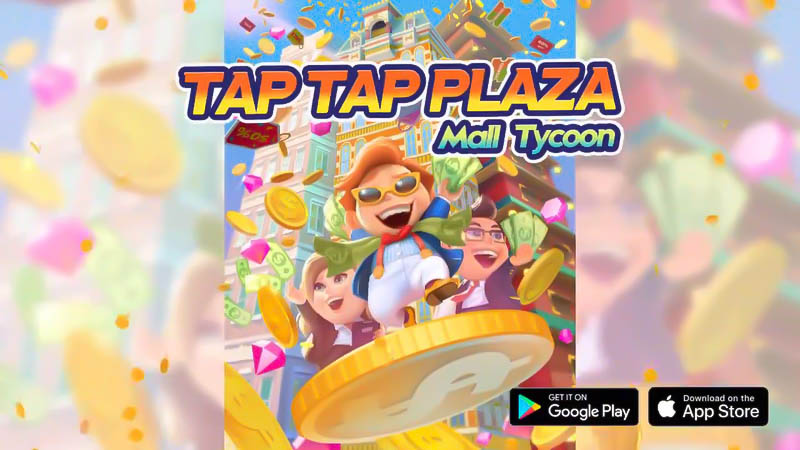 Tap Tap Plaza Mall Tycoon (Game Android)