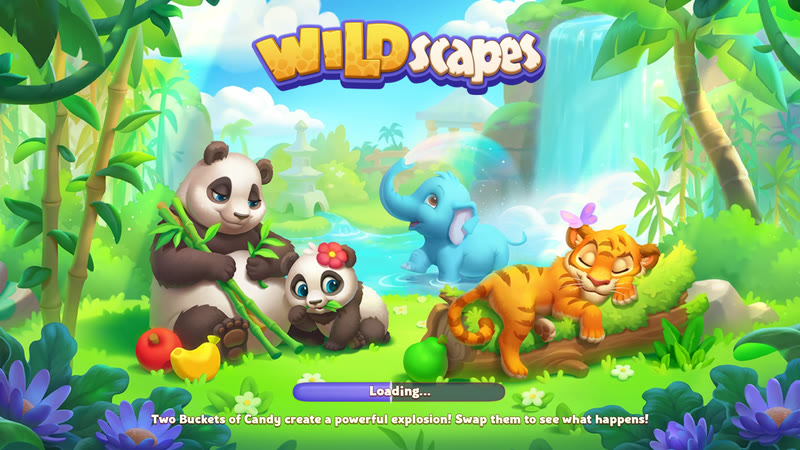 Wildscapes (Game iOS / Android)