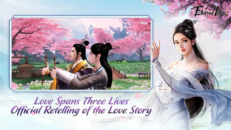 Eternal Love M - Love spans Three Lives Official Retelling of the Love Story