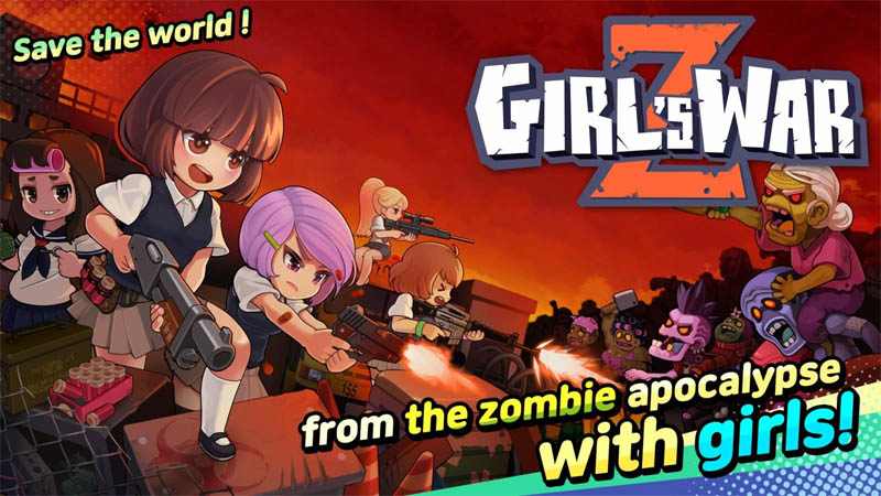 Girl's War Z - save the world from the zombie apocalypse with girls