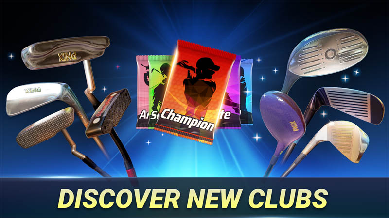 Golf King World Tour - Discover New Clubs