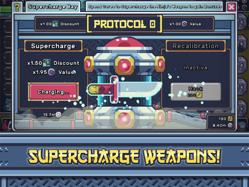 Idle Ninja Prime - Tap Quest - Supercharge Weapons