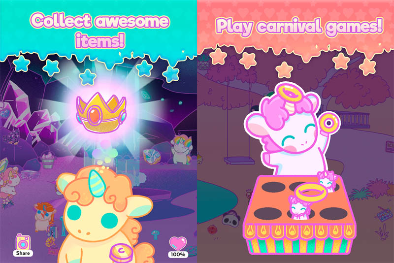 KleptoCorns - Collect awesome items Play carnival games
