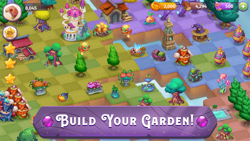 Merge Magic - Build Your Garden