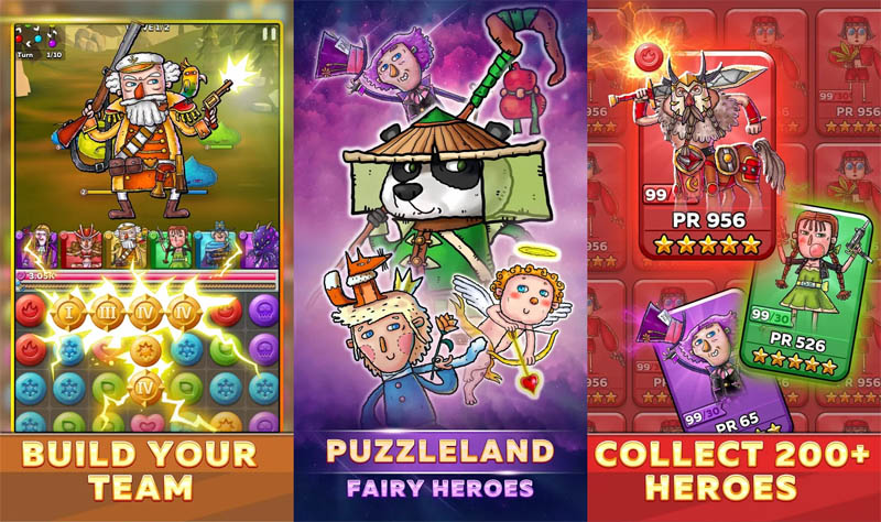 Puzzleland Match 3 RPG (Game Android)