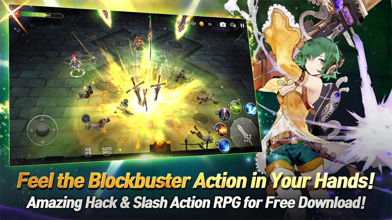 Soul Seeker R - Amazing hack and slash action RPG for free download