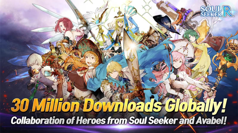 Soul Seeker R - Collaboration of heroes from soul seeker and avabel