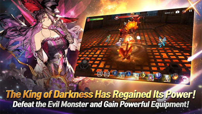 Soul Seeker R - Defeat the Evil monster and gain powerful equipment