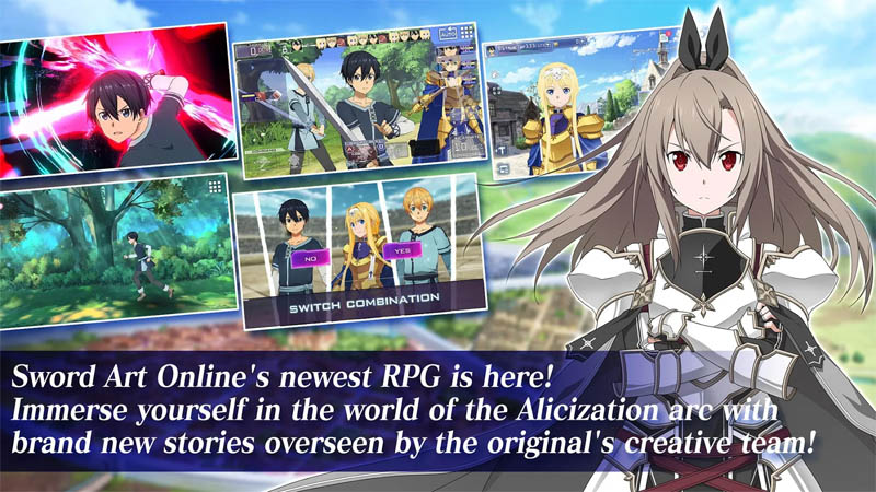 Sword Art Online Alicization Rising Steel - Newest RPG