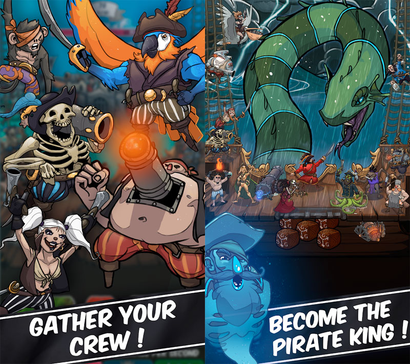 Tap Pirates - Gather your crew Become the pirate king