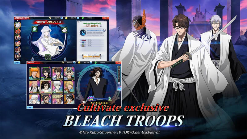 BLEACH Soul Bankai - Cultivate exclusive BLEACH TROOPS