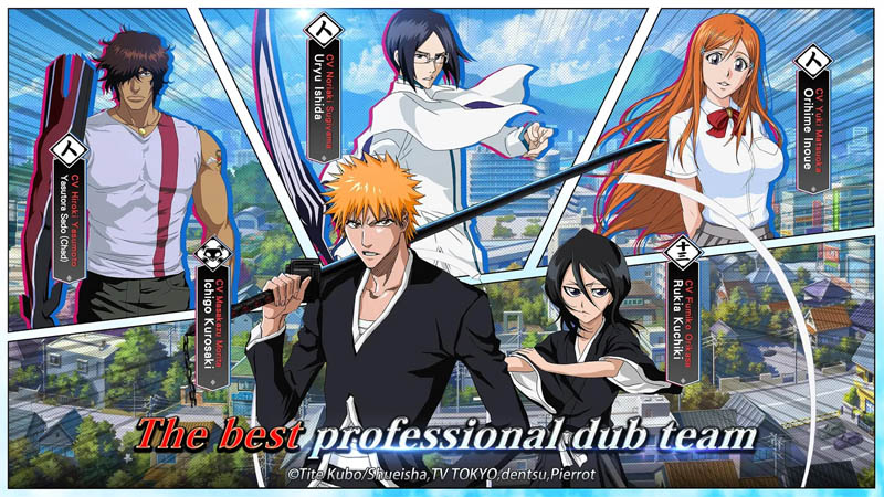 BLEACH Soul Bankai - The best professional dub team