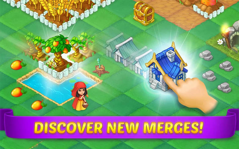 Evermerge Once Upon A Merge - Discover new merges