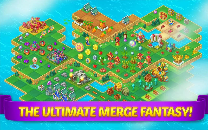 Evermerge Once Upon A Merge - The Ultimate Merge Fantasy