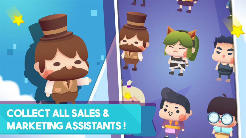 Fit Millionaire - Collect all sales marketing assistants
