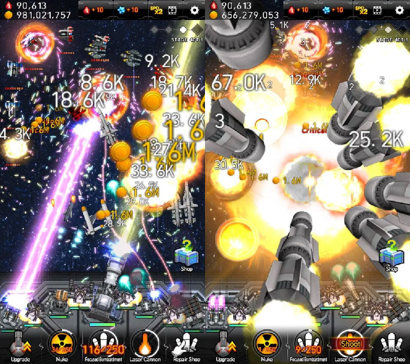 Galaxy Missile War - Screenshot 1