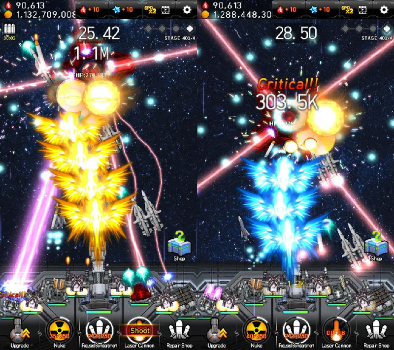 Galaxy Missile War - Screenshot 2