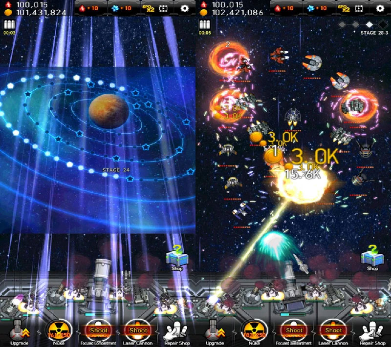 Galaxy Missile War - Screenshot 3