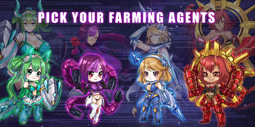 Idle Space Farmer - Pick Your Farming Agents