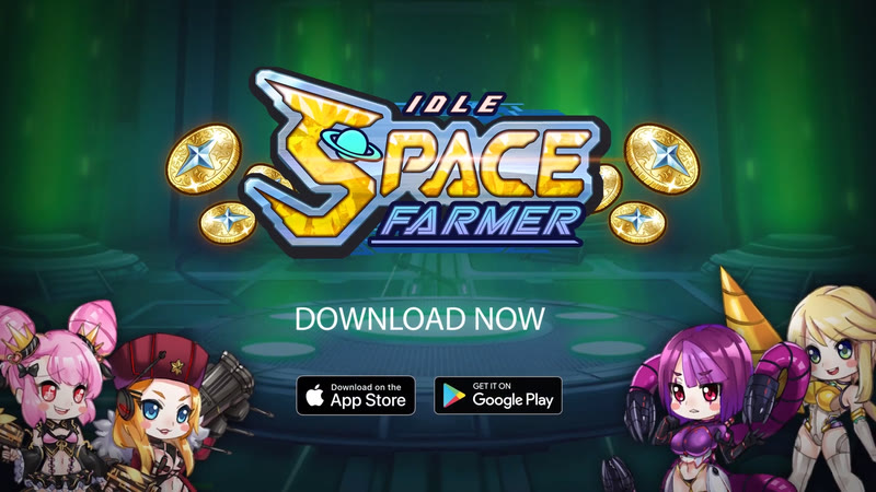 Idle Space Farmer (Game Android)