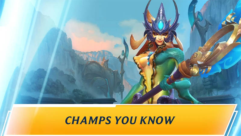 League of Legends Wild Rift - Champs You Know