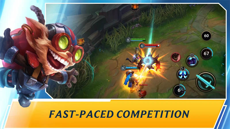 League of Legends Wild Rift - Fast-paced Competition
