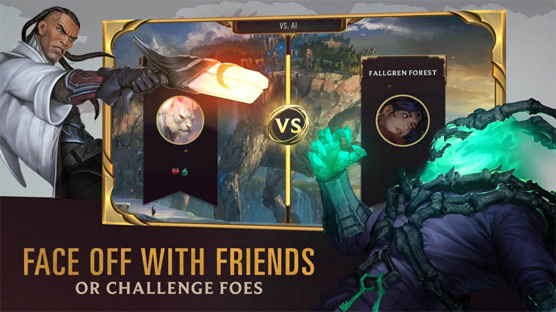Legends of Runeterra - Face Off With Friends or Challenge Foes