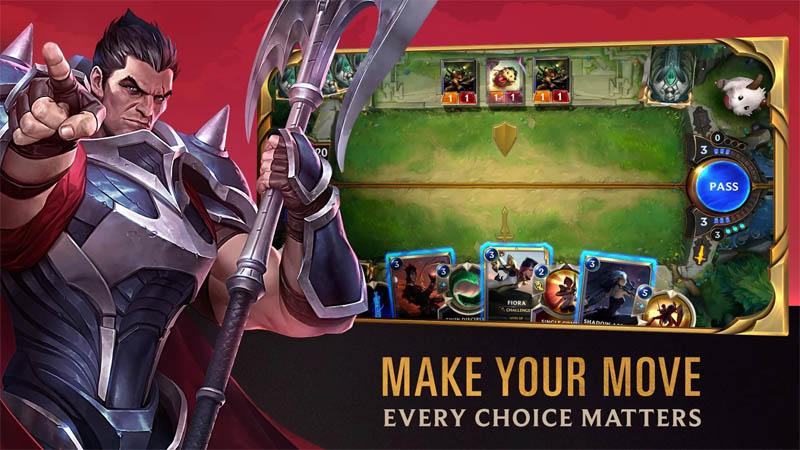 Legends of Runeterra - Make Your Move Every Choice Matters