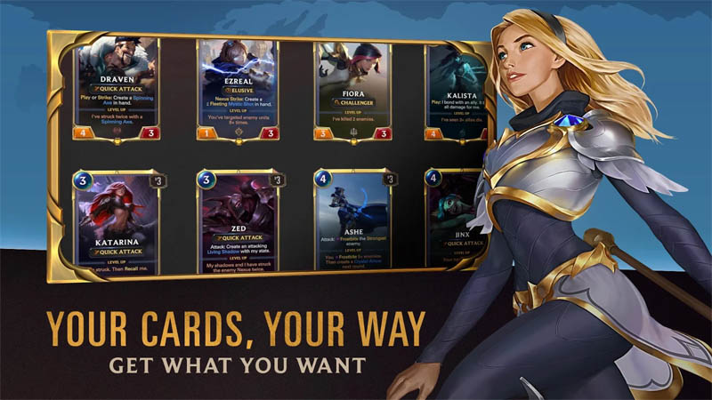Legends of Runeterra - Your Cards Your Way Get What You Want