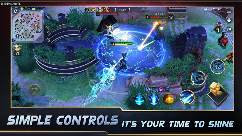 MARVEL Super War - Simple Controls Its your time to shine