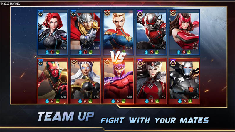 MARVEL Super War - Team Up Fight With Your Mates