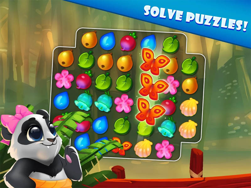 Panda Swap (Game Android)