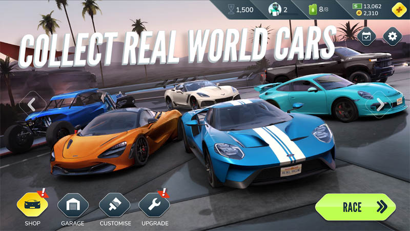 Rebel Racing - Collect Real World Cars