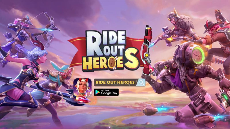 Ride Out Heroes Intro (Android & iOS)