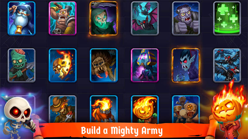 Spooky Wars - Build a Mighty Army