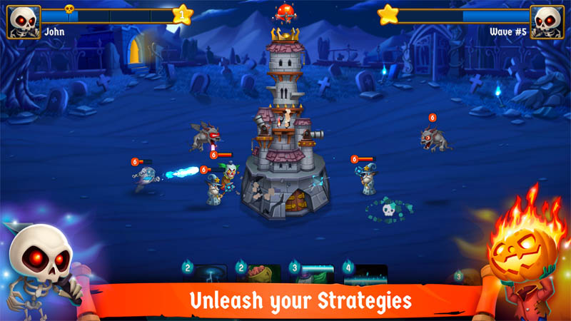 Spooky Wars - Unleash your Strategies