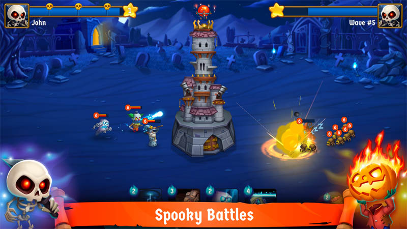 Spooky Wars (Game Android)