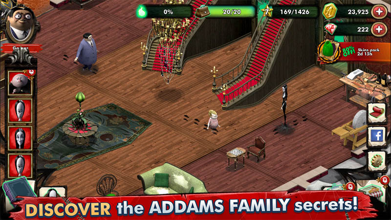 The Addams Family - Mystery Mansion - DISCOVER the ADDAMS FAMILY secrets