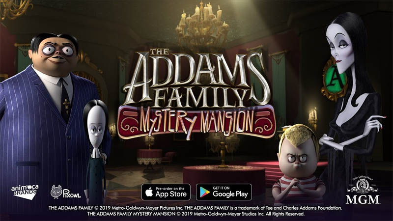 The Addams Family - Mystery Mansion (Game Android & iOS)