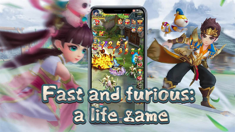 Yong Heroes - Fast and furious a life game