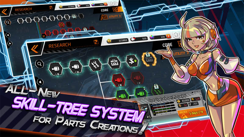 APEX Racer Mini 4WD - All New Skill Tree System For Parts Creations