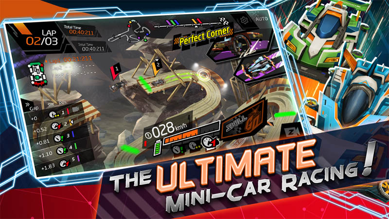 APEX Racer Mini 4WD - The Ultimate Mini Car Racing