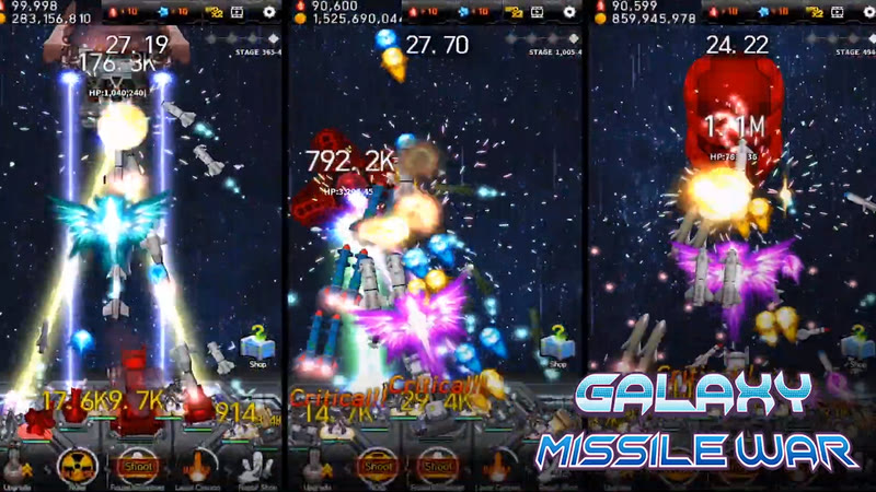 Galaxy Missile War (Game Android dan iOS)