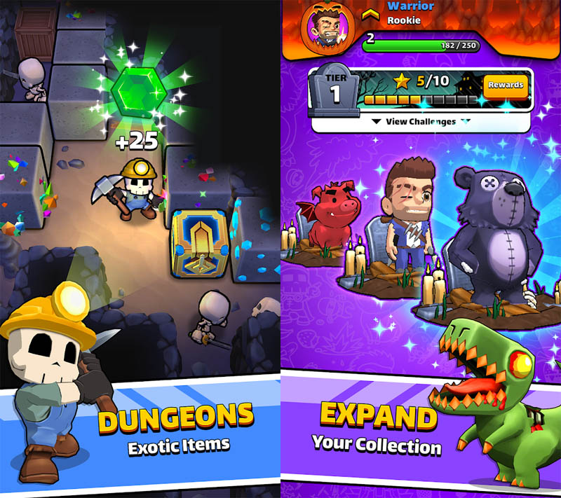 Magic Brick Wars - Dungeons Exotic Items Expand Your Collection